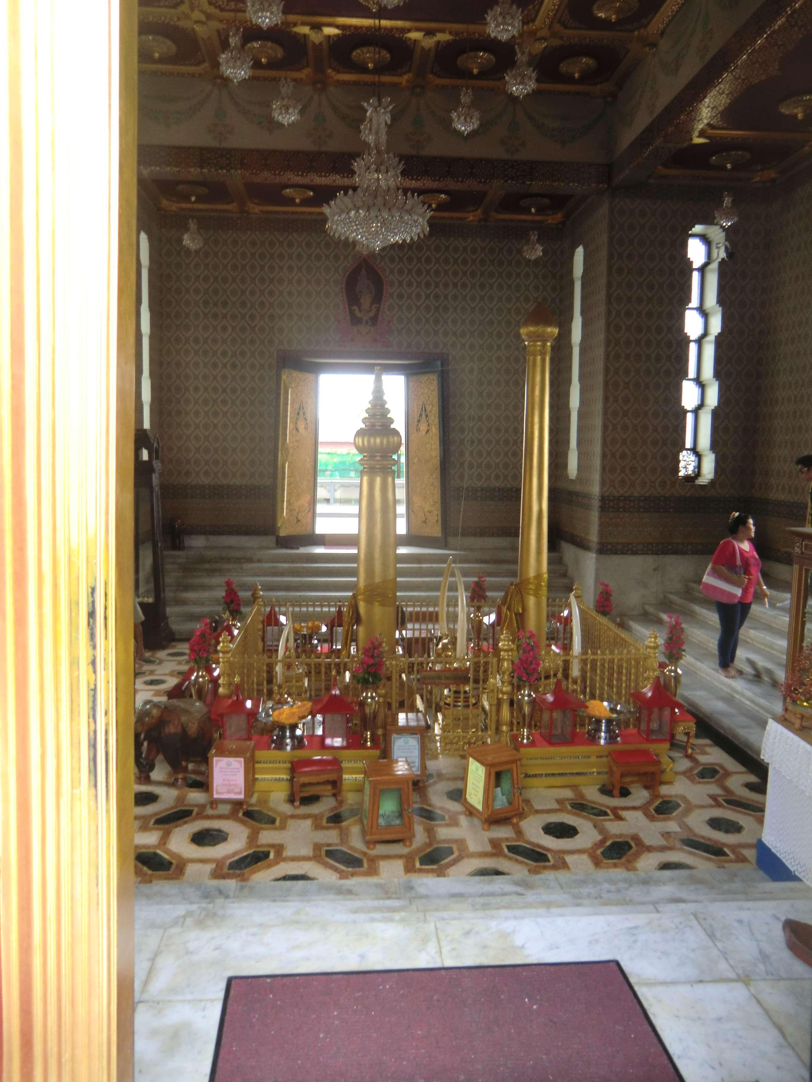 innen im Bangkok City Pillar Shrine