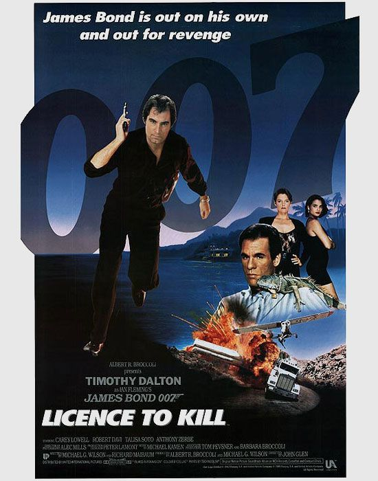 James Bond 007 Licence To Kill Poster