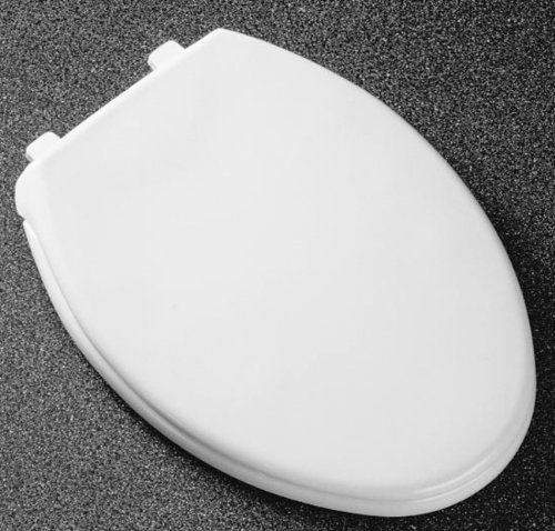 Church Bemis 7800TDG000 Plastic Elongated Toilet Seat White EBay