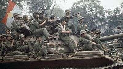 Pád Saigonu po vstupu severovietnamských vojsk