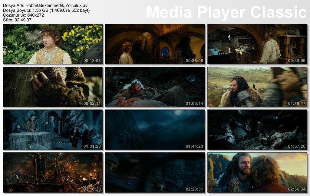 Hobbit Beklenmedik Yolculuk - 2012 BRRip XviD - Türkçe Dublaj Tek Link indir