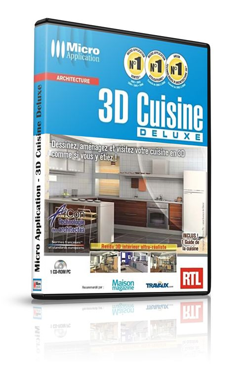 Micro application 3d cuisine deluxe warezlander for 3d cuisine deluxe