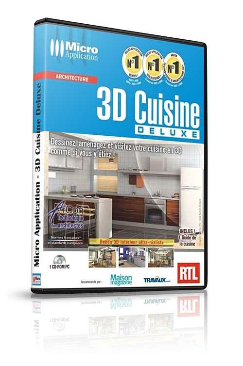 Micro application 3d cuisine deluxe warezlander for 3d cuisine deluxe