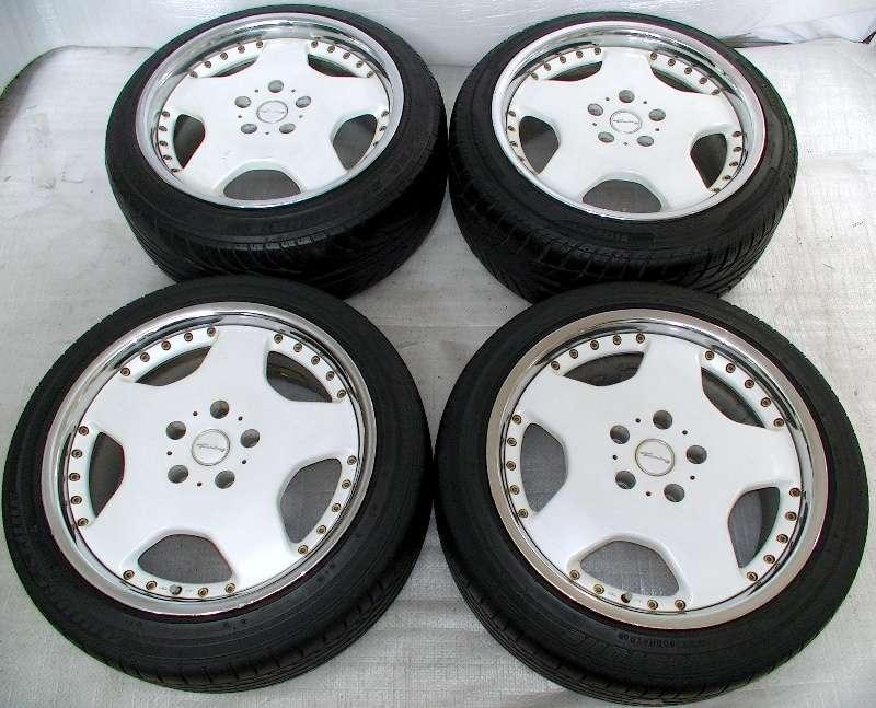 BRIDGESTONE Turning Alloy wheels rims 17 8J 9J 5x114 S14 Supra