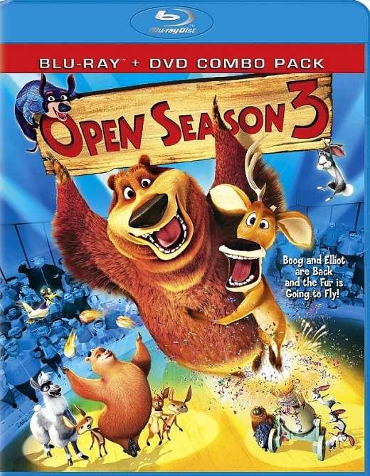 Medžioklės sezonas atidarytas 3 / Open Season 3 (2010) [BDRip] Nuotykių, Komedija, Animacinis