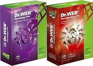 Dr.Web Anti-Virus & Security Space 8.2.0.08131