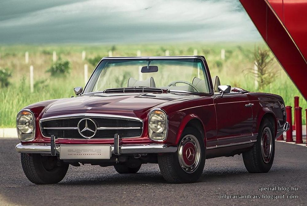 mercedes benz 280 sl pagode by overdrive used daewoo cars. Black Bedroom Furniture Sets. Home Design Ideas